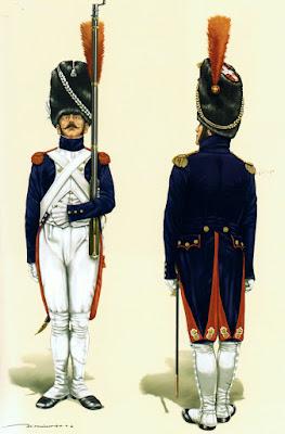 Grenadiers à pied de la Garde - Page 2 Espagne