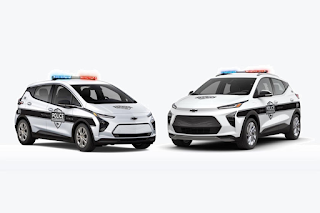2022 Chevrolet Bolt EV Cop Car Will Struggle To Catch Criminals