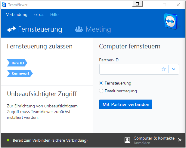 Teamviewer Screenshot