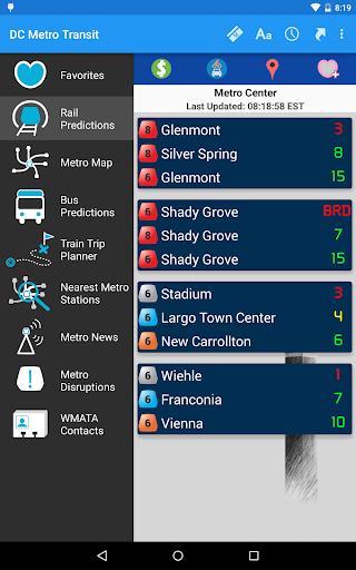 DC Metro Transit Info - Free screenshot 18