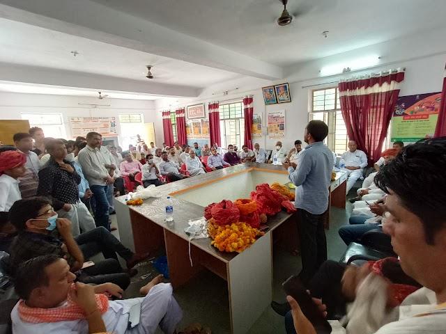 आरएएस में चयन होने के बाद बोरख का नागरिक अभिनंदन समारोह आयोजित