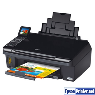 How to reset Epson SX400 with tool