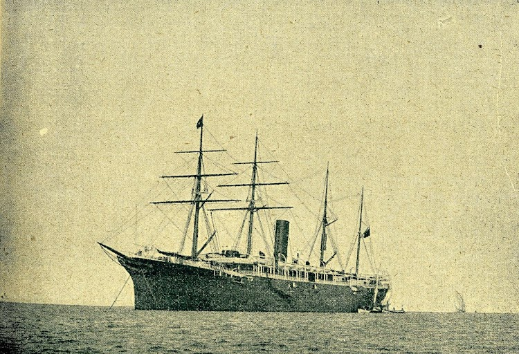Vapor Correo REINA MARIA CRISTINA. Revista La Vida Maritima. Año 1902.JPG