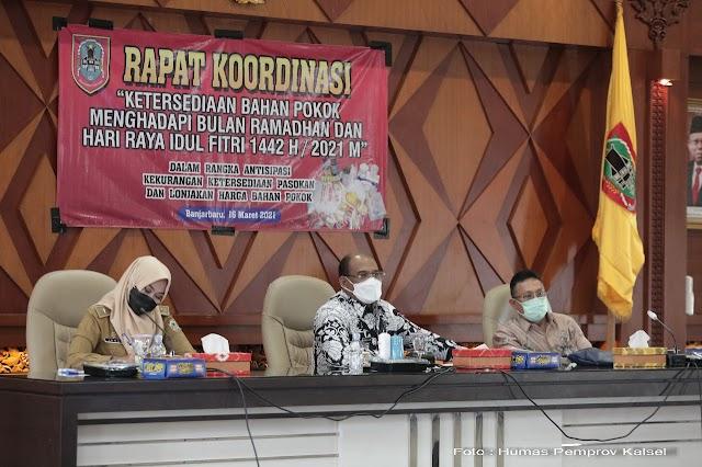 """Jelang Ramadan, Pemprov Kalsel Terapkan """"ADA"""""""