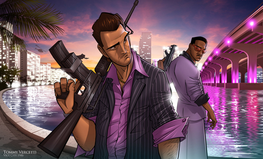 GTA Vice City Tommy Vercetti e Lance