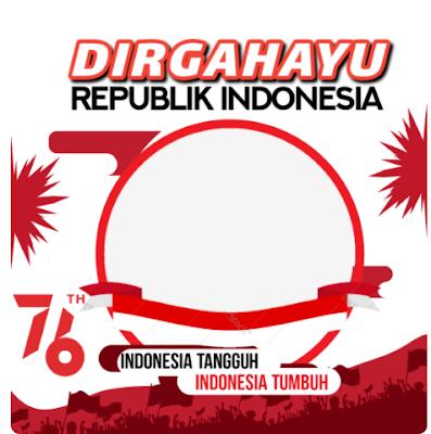 Twibbon Ucapan Dirgahayu Indonesia Ke-76
