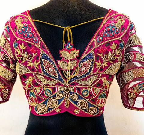 Amazing Maggam Bridal Blouse Collection You Should Never Miss This 2021