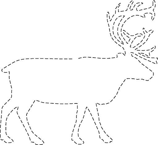ciervos para imprimir