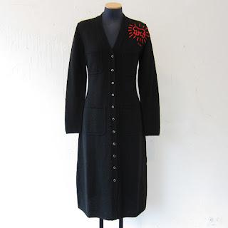 JC de Castelbajac NEW Keith Haring Sweater Dress