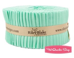 sweet Mint Jelly Roll Riley Blake Designs