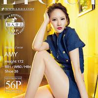 LiGui 2015.08.22 网络丽人 Model amy [56+1P] cover.jpg