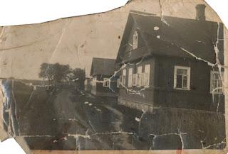 Дома справа налево - Иван , Григория и Николая Силиных