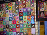 2007 Quilt Show - I) Pieced Bed Machine Quilted