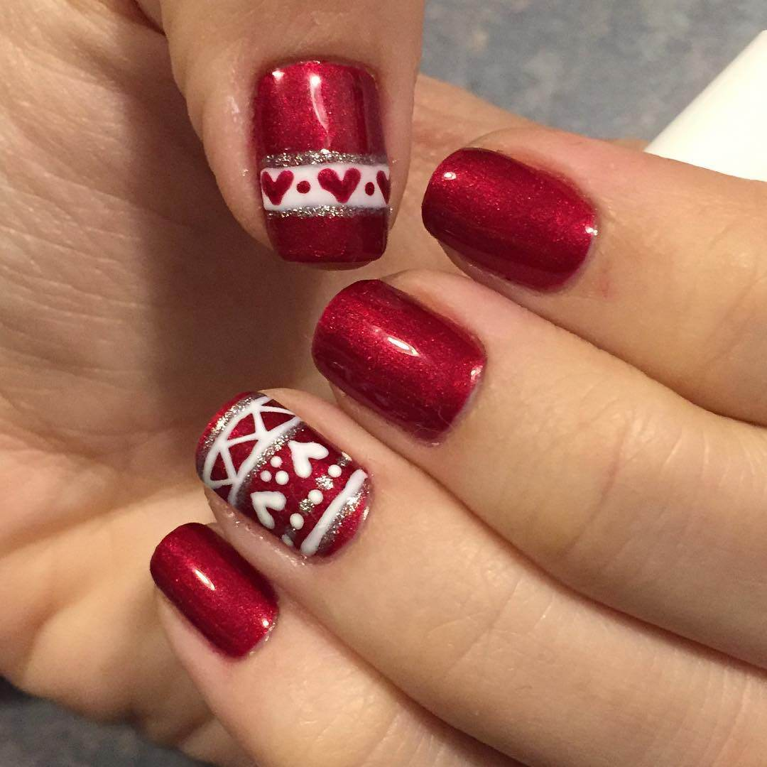Winter Nail Designs 2017: Top 20 Winter Nail Art 2017 For Women