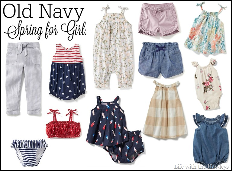 Old Navy Spring For Girls