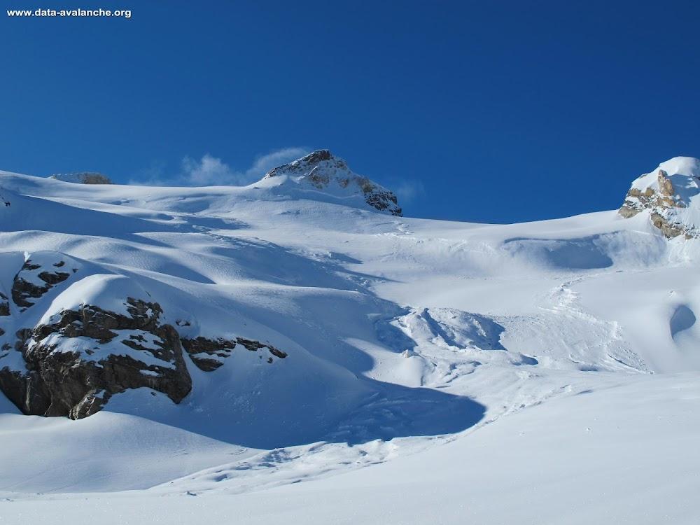 Avalanche Grand Paradis, secteur Pointe de la Galise, Punta Galisia - Par le Val de Rhêmes - Glacier du Fond - Photo 1