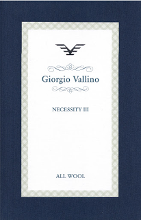 Giorgio Vallino Necessity III, Anzug €600/-
