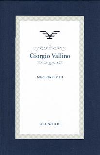 Giorgio Vallino Necessity III, Anzug €600/-