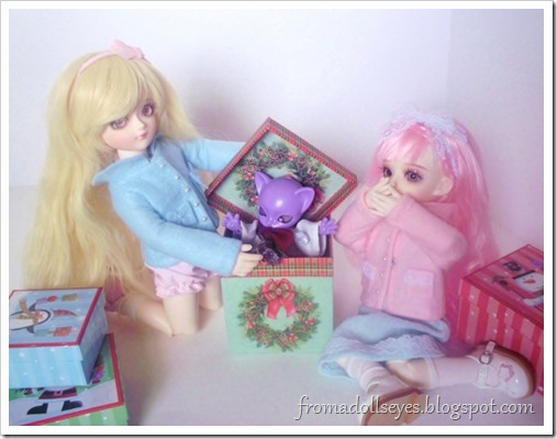 Cute ball jointed doll Christmas Photo