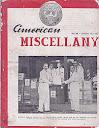American Miscellany No 28 - January 15, 1951