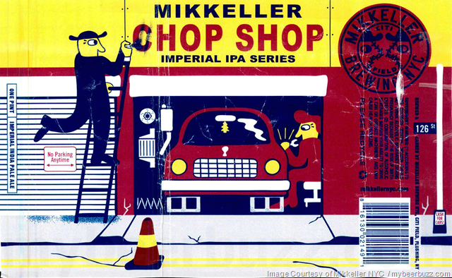 Mikkeller NYC Adding Chop Shop Imperial IPA Series Cans