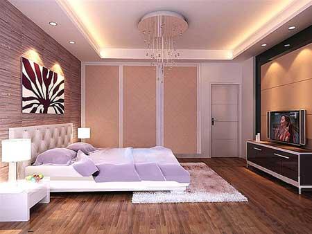 Bài trí phòng ngủ cho vợ chồng hợp phong thủy