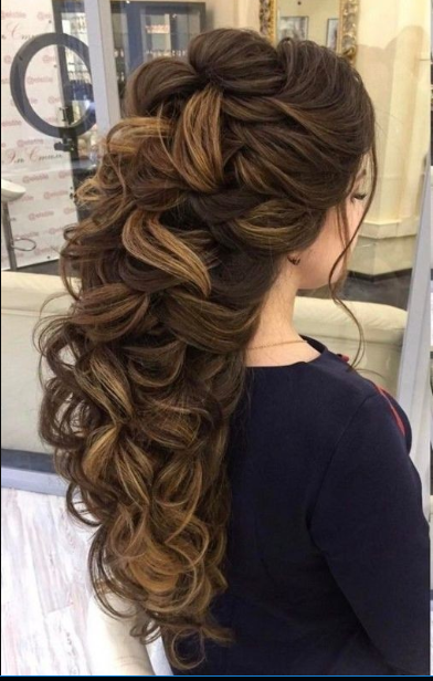 Latest Wedding Hairstyles For Long Hair 6