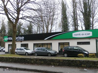 Enterprise Rent A Car On Lower Bristol Road Car Van Hire In Bath Ba2 3dr Somerset