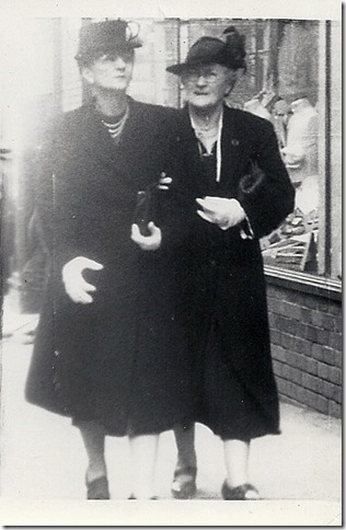 BOWDEN_Florence & her mother Florence downtown