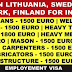 Europe Jobs (Lithuania, Sweden, Denmark, Finland) | Employment VISA