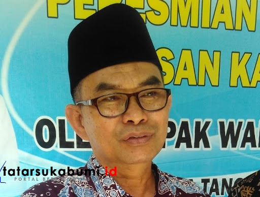 Wakil Bupati Sukabumi Adjo Sardjono / Foto : Rapik Utama (12/1/2019)