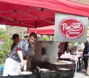 Pine State Biscuit at the Farmers Market