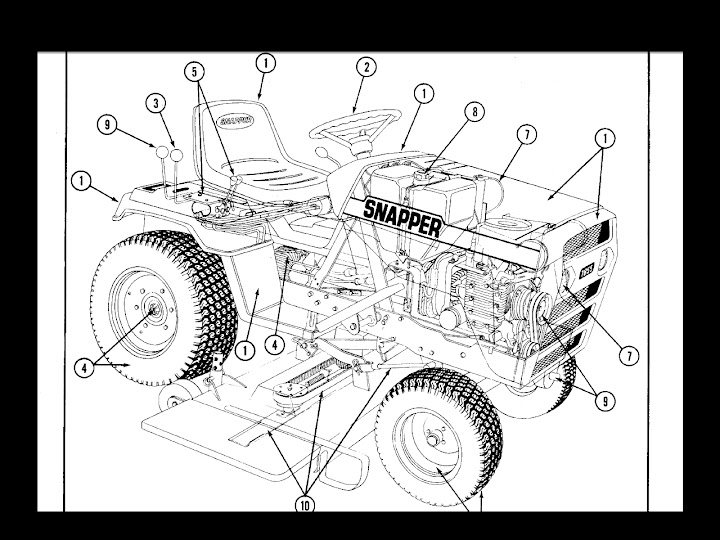 Find SNAPPER 1600 1650 1855 SERVICE MANUAL for Tractor