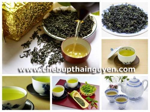 nước, mùi và vị đặc trưng làm nên sự nổi tiếng của chè Thái Nguyên