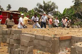 Moving bricks