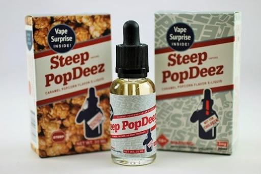 steeppopdeez 2 thumb%25255B3%25255D - 【リキッド】Steep Pop Deez「Caramel popcorn (キャラメル ポップコーン)」リキッドレビュー。おまけがついてくるスイーツフレーバー【STEEP VAPORS / POPDEEZ/スティープポップディーズ】