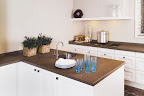 Honed Misty Bruna Kitchen worktops