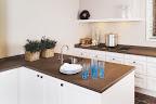 Honed Misty Bruna Kitchen worktops