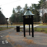 Custom Design Kiosk at Bike Path Rest Area