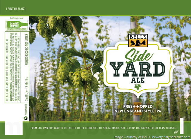 Bell's Adding NEW Side Yard Ale Cans & Tessie's Golden Ale Bottles