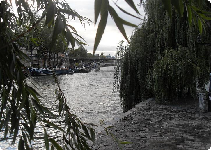 Udsigt fra Ille de Cite mod Pont des Arts - nu uden lovelocks