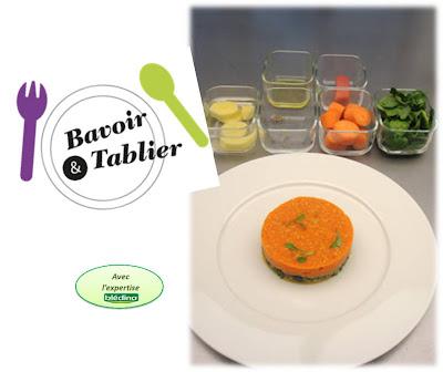 recette-pour-bebe-12-mois-bavoir-et-tablier-caline-de-sousa-carotte-des-sables-cresson-grenadin-veau