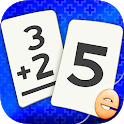 Addition Flash Cards Math Help Learning Games Free icon