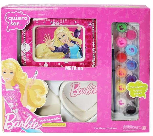 Bộ dụng cụ thiết kế khung ảnh Barbie