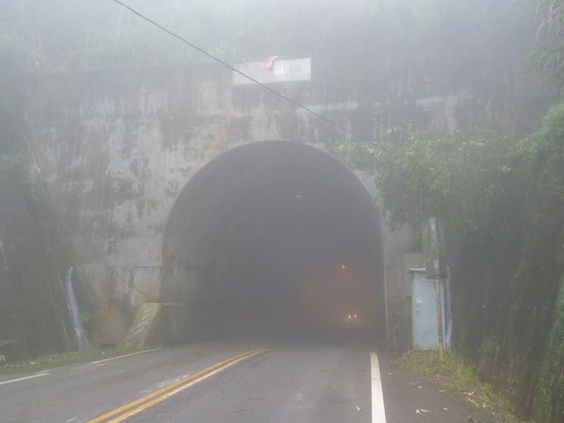 Entrée du tunnel, sans doute 2 kilomètres