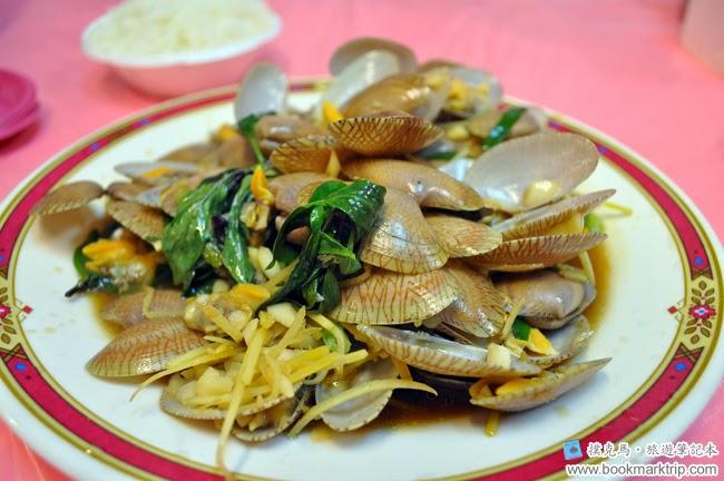 後壁湖彩莉鮮魚專賣店炒海瓜子