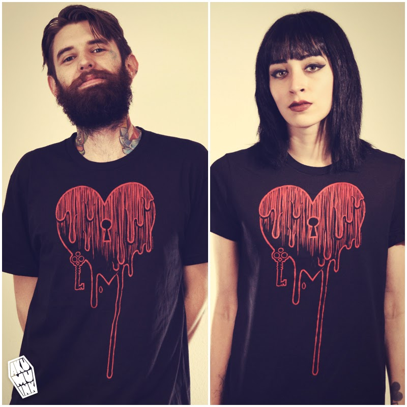 bleeding heart tshirt, heart shirt, emo heart shirt, red heart shirt, bloody heart shirt, heart key shirt