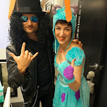 during Halloween at Climax Media in Etobicoke, Ontario, Canada