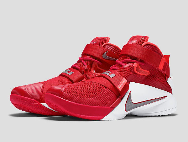 I Guess You Can Call These Ohio State LeBron Soldier 9s