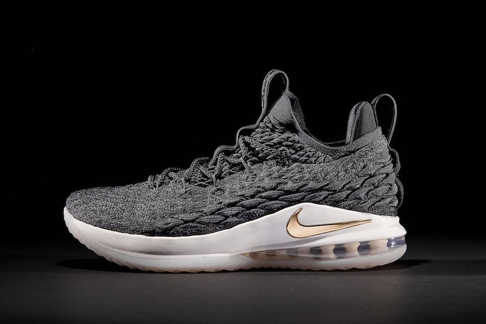 8ffa8d25049 Release Reminder   Black Gold     Ashes  Nike LeBron 15 Lows